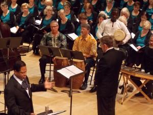 Emancipation Oratorio Duet Craig and Alhassan