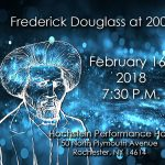 Frederick Douglass at 200 Image with Hochstein performance info